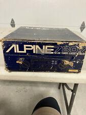 New listing Alpine 7307 Used Old School Vintage Head Unit