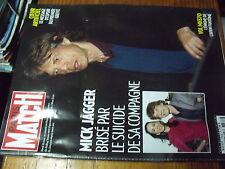 µ? Revue Paris Match n°3383 Hechter Jagger Pasternak Clooney Fleurot Vanier