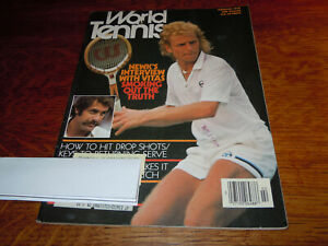 "VINTAGE FEBRUARY 1978 "" WORLD TENNIS "" TENNIS MAGAZINE"