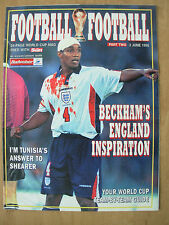 FOOTBALL WORLD CUP 1998 FRANCE - SUN MAGAZINE PART 2 - TEAM-BY-TEAM GUIDE
