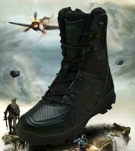 SWAT MENS TACTICAL COMBAT BOOTS TOUGH GUY OUTDOOR HIKING SHOES MILITARY BOOTS SZ