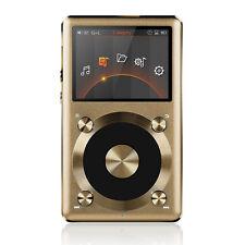 FiiO X3 II 2nd Gen Portable High-Res APE FLAC WMA WAV DSD Audio Player Gold