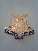 Authentic US Army 1st Transportation Battalion DI DUI Crest Insignia D22