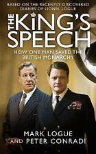 The King's Speech, Logue, Mark & Conradi, Peter, Used; Good Book