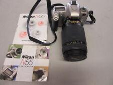 Nikon N55 35mm Camera with Nikon ED AF nikkor 70-300mm Lens
