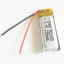 3.7V 150mAh lipo Battery rechargeable For MP3 bluetooth smart watch GPS 501230