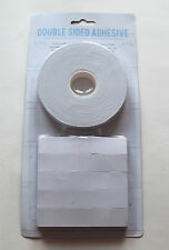 Double Sided  Adhesive Sticky Tape & Foam Pads Craft Card Making Scrap Booking
