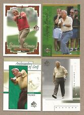 Arnold Palmer 2001 SP Authentic lot Fairway Greats Major Players Defining Moment