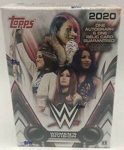 2020 Topps WWE Women's Division Factory Sealed Hobby Box