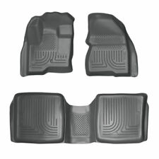 Husky Liners 2009-2018 Ford Flex WeatherBeater Floor Mats All Weather Gray 98742