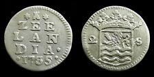 Netherlands / Zeeland - Dubbele Wapenstuiver 1735 ~ CNM 2.49.95