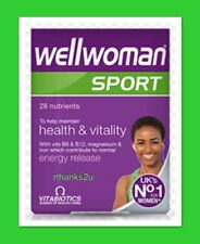 Vitabiotics Wellwoman Sport - 30 Tablets with B6 & B12 Magnesium & Iron