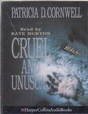 Cruel and Unusual Patricia Cornwell 2 Cassette Audio Book Scarpetta FASTPOST