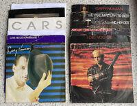 """12 X Gary Numan Original  7"""" Vinyl Records Original Covers"""