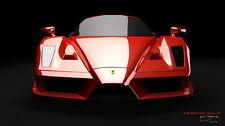 "117 Ferrari - Enzo F458 F50 F1 California LaFerrari Super Car 24""x14"" Poster"
