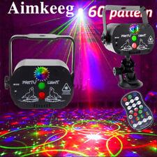 240 Muster Laser Bühnenlicht Projektor RGB LED USB Party Disco Bühnenbeleuchtung