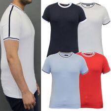 Retro 100% Cotton Short Sleeve T-Shirts for Men