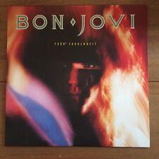 """Bon Jovi -  7800 Fahrenheit  12""""  Vinyl Lp"""