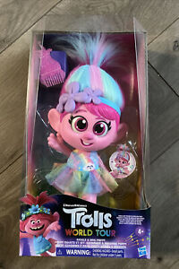 Trolls Dreamworks Poppy Giggle And Sing Doll Discontinued New In Box