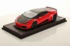 MR Collection Lamborghini Huracan Aftermarket Rosso Mars/Nero Nemesis 1/18