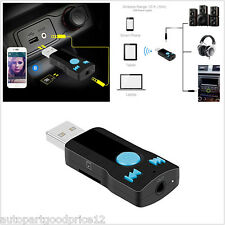 Usb Bluetooth 3.5mm Stereo Audio Music Receiver Adapter for Speaker Smartphones