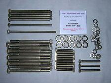 Kawasaki Z1000J - Z1000 J/J1/J2 Crankcase Bolts Set - A2 Stainless Steel