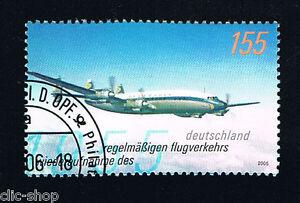 GERMANIA 1 FRANCOBOLLO AEREO 2005 timbrato