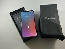 NEW LG G8 ThinQ 128GB Black GSM Unlocked Smartphone Android AT&T T-Mobile 4G LTE
