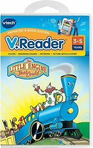 vtech V.Reader The Little Engine That Could [Book + Cartridge] Used