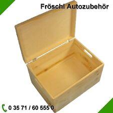 Kiste mit Deckel Aufbewahrung Holzkiste Box Spielkiste Spielzeugkiste Angelkiste