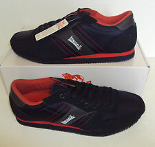 LONSDALE Men's Coniston Navy & Red Casual Classic Trainers Shoes New Size UK 10