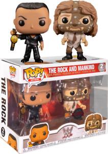 Funko DRM210107 Pop! Wwe: The Rock vs. Mankind 2 Pack
