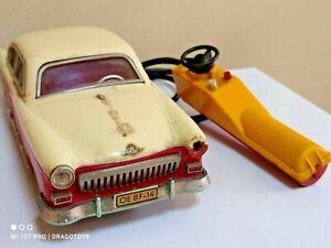 VINTAGE VOLGA GAZ 21 PRESU TOY CAR GERMANY PIKO ANKER BATT. OPER. REMOTE 1:20