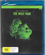 The Wolf Man Blu-ray New (Lon Chaney Jr.) Region B Aussie Release Free Post