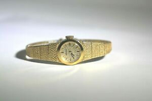 WOMAN'S SEIKO WRIST WATCH GOLD PLATED  11-0459 591367 WORKING KEEPS TIME VINTAGE