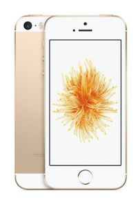 NEW GOLD VERIZON GSM/CDMA UNLOCKED 16GB APPLE IPHONE SE PHONE JU41