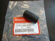 Honda ns50 xl200 tlr200 cx500 gl500 Gear Lever Rubber Genuine.
