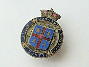 Durham County Special Constable's Vintage Lapel Badge