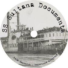 Civil War: Steamer SS Sultana Disaster Documents