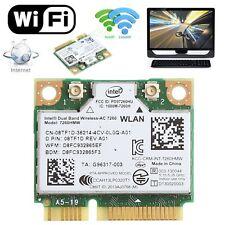 Mini Bluetooth 4.0 Dual Band Wireless PCI-E Card For Intel 7260 AC DELL 7260HMW