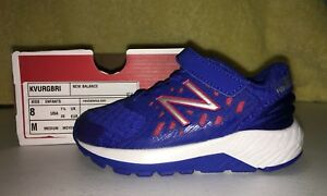 NEW BALANCE FUEL CORE URGE SNEAKERS SHOES BOYS INFANT SIZES - 7,  7.5,  8   NEW
