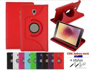 PU Leather 360 Rotate Stand Case For Samsung Galaxy Tab A 8.0 inch T385 2017
