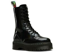 NIB Dr Martens JADON HI RAINBOW  Lamper leather 10-eyes Boot 24668001 platform
