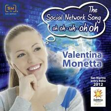 Valentina Monetta - The Social Network Song oh oh oh! - CD SINGLE - BRAND NEW!