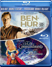 Ben-Hur 1959 and The Ten Commandments Blu-ray Disc Double Feature Blu Ray DVD
