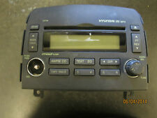 06 07 08 HYUNDAI SONATA CD MP3 PLAYER RADIO #VP5HBF-18C869-CH *See item*