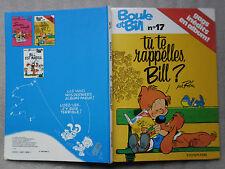 LIVRE-BD-BOULE ET BILL-N°17-1980-EDITIONS JEAN DUPUIS-GAGS INEDITS EN ALBUM-ROBA