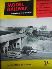 Model Railway Constructor 12 1962