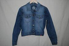 EDC by ESPRIT | kultige Jeansjacke | STRETCHIG | Blau verwaschen | S 38