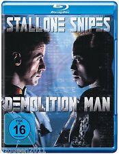 Demolition Man [Blu-ray] Sylvester Stallone, Wesley Snipes    * NEU & OVP *